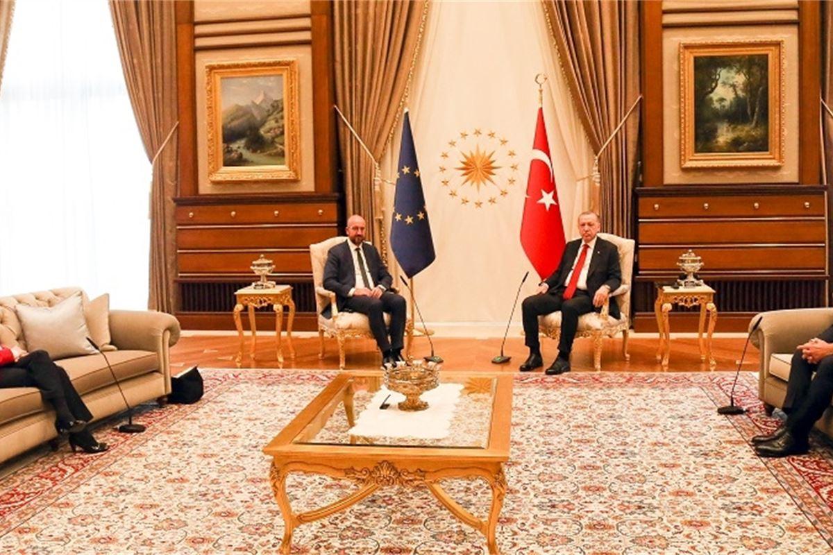 Von der Leyen relegated to sofa in Turkey meeting as MEPs decry diplomatic  snub